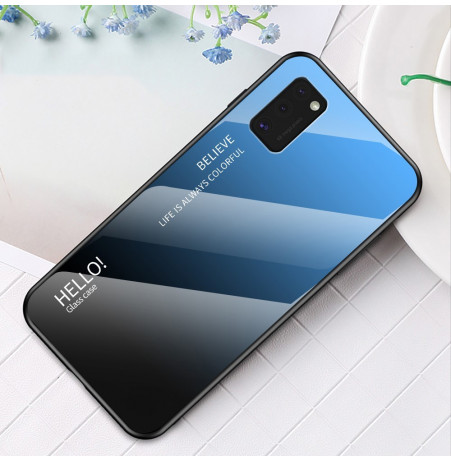 12117 - NXE Sky Glass стъклен калъф за Samsung Galaxy A41