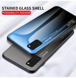 12125 - NXE Sky Glass стъклен калъф за Samsung Galaxy A41