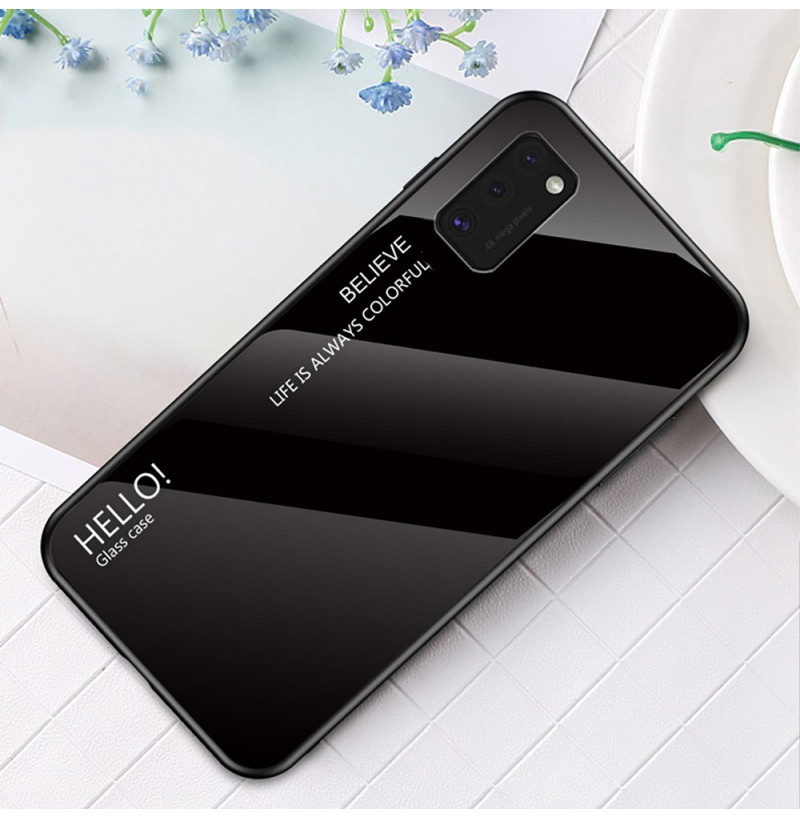 12130 - NXE Sky Glass стъклен калъф за Samsung Galaxy A41