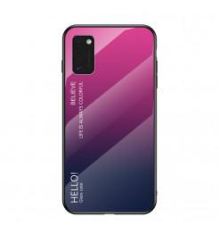 12137 - NXE Sky Glass стъклен калъф за Samsung Galaxy A41