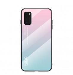 12144 - NXE Sky Glass стъклен калъф за Samsung Galaxy A41