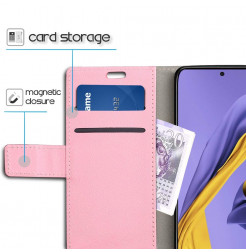 1218 - MadPhone кожен калъф за Samsung Galaxy A71