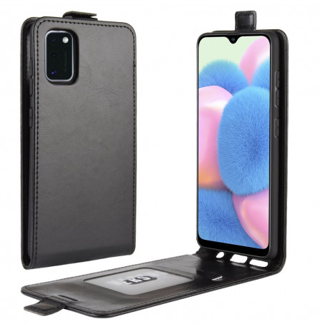 12224 - MadPhone Flip кожен калъф за Samsung Galaxy A41