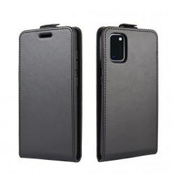 12225 - MadPhone Flip кожен калъф за Samsung Galaxy A41