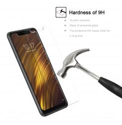 12267 - MadPhone стъклен протектор 9H за Xiaomi Pocophone F1