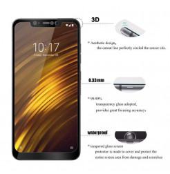 12273 - 3D стъклен протектор за целия дисплей Xiaomi Pocophone F1