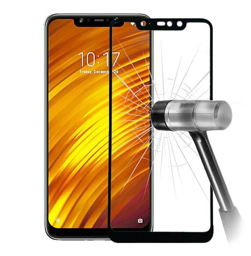12275 - 3D стъклен протектор за целия дисплей Xiaomi Pocophone F1
