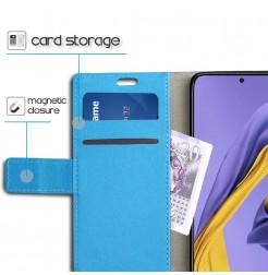 1228 - MadPhone кожен калъф за Samsung Galaxy A71