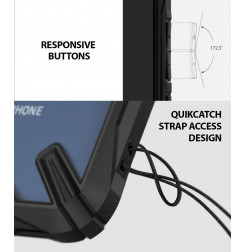 12341 - Ringke Fusion X хибриден кейс за Xiaomi Pocophone F1