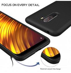 12355 - MadPhone релефен TPU калъф за Xiaomi Pocophone F1