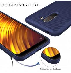 12365 - MadPhone релефен TPU калъф за Xiaomi Pocophone F1