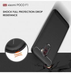 12373 - MadPhone Carbon силиконов кейс за Xiaomi Pocophone F1