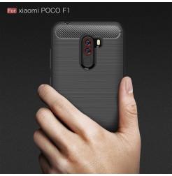 12375 - MadPhone Carbon силиконов кейс за Xiaomi Pocophone F1