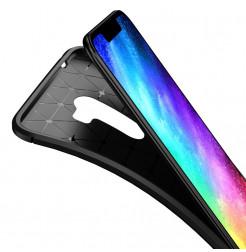 12385 - iPaky Carbon силиконов кейс калъф за Xiaomi Pocophone F1