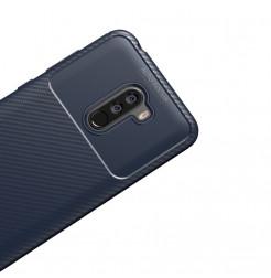 12392 - iPaky Carbon силиконов кейс калъф за Xiaomi Pocophone F1