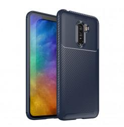 12393 - iPaky Carbon силиконов кейс калъф за Xiaomi Pocophone F1