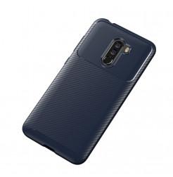 12394 - iPaky Carbon силиконов кейс калъф за Xiaomi Pocophone F1