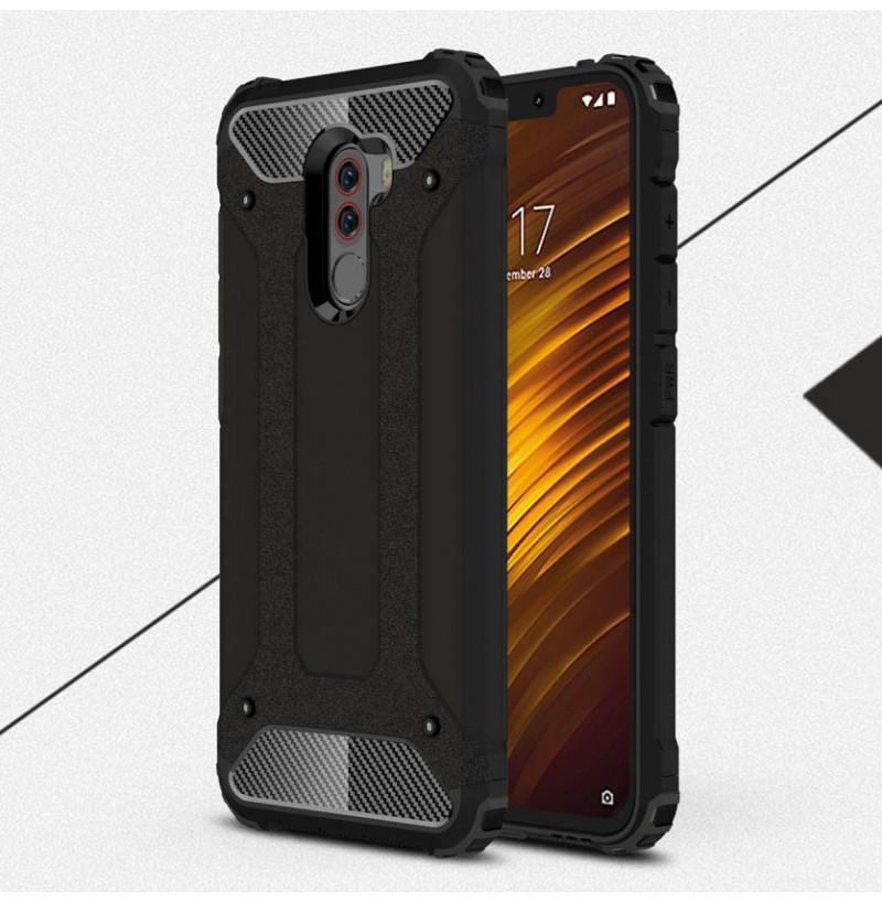 12435 - MadPhone Armor хибриден калъф за Xiaomi Pocophone F1