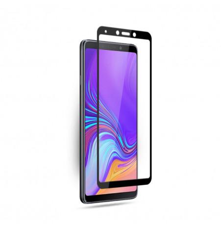 1247 - 3D стъклен протектор за целия дисплей Samsung Galaxy A9 (2018)