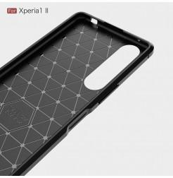 12544 - MadPhone Carbon силиконов кейс за Sony Xperia 1 II