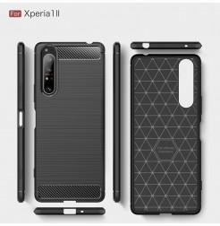 12547 - MadPhone Carbon силиконов кейс за Sony Xperia 1 II