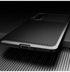12565 - iPaky Carbon силиконов кейс калъф за Sony Xperia 1 II