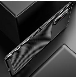 12566 - iPaky Carbon силиконов кейс калъф за Sony Xperia 1 II