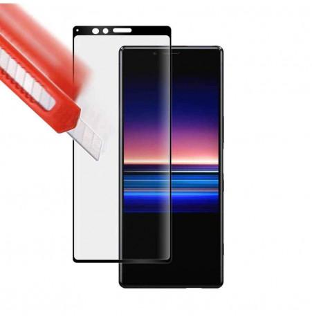 12610 - 3D стъклен протектор за целия дисплей Sony Xperia 1