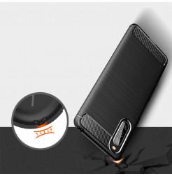 12622 - MadPhone Carbon силиконов кейс за Sony Xperia 10 II