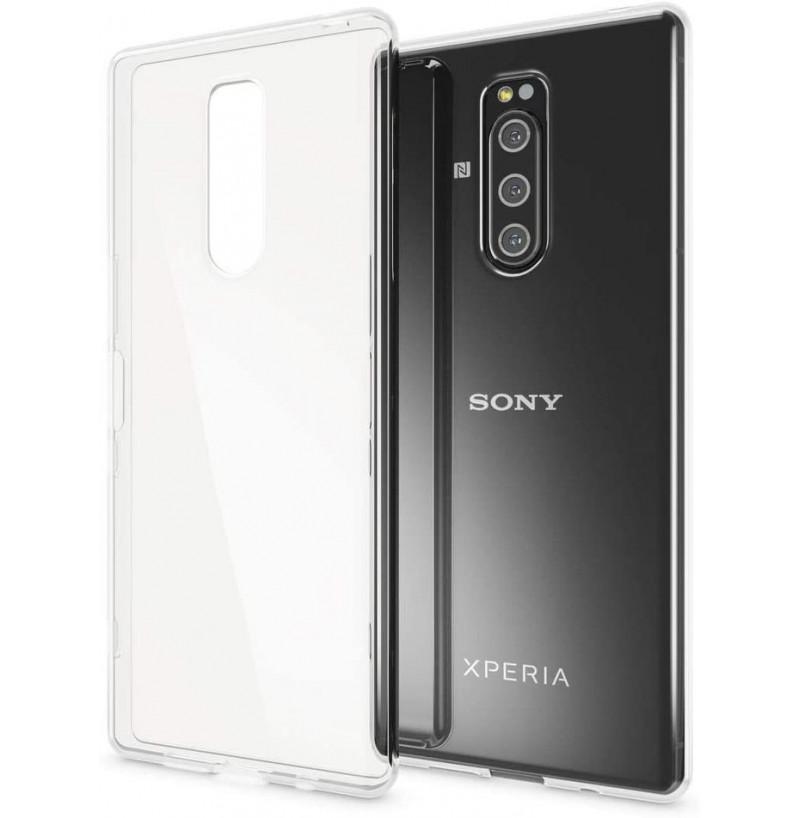 12638 - MadPhone супер слим силиконов гръб за Sony Xperia 1