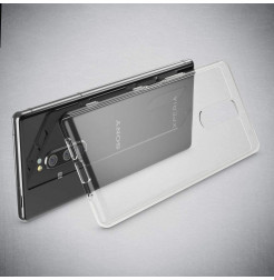 12640 - MadPhone супер слим силиконов гръб за Sony Xperia 1