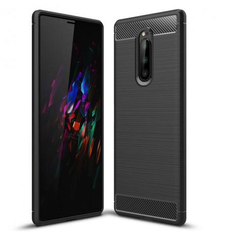 12668 - MadPhone Carbon силиконов кейс за Sony Xperia 1