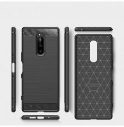12669 - MadPhone Carbon силиконов кейс за Sony Xperia 1