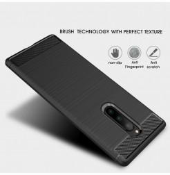 12670 - MadPhone Carbon силиконов кейс за Sony Xperia 1