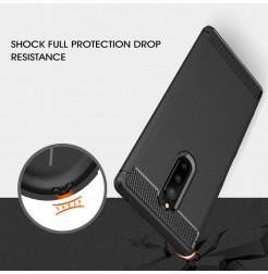 12671 - MadPhone Carbon силиконов кейс за Sony Xperia 1