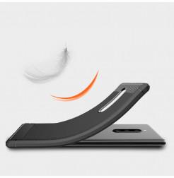 12672 - MadPhone Carbon силиконов кейс за Sony Xperia 1