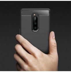 12673 - MadPhone Carbon силиконов кейс за Sony Xperia 1
