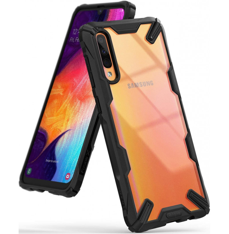 127 - Ringke Fusion X хибриден кейс за Samsung Galaxy A50 / A30s