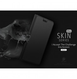 12738 - Dux Ducis Skin кожен калъф за Sony Xperia 1