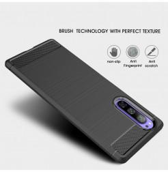 12752 - MadPhone Carbon силиконов кейс за Sony Xperia 5