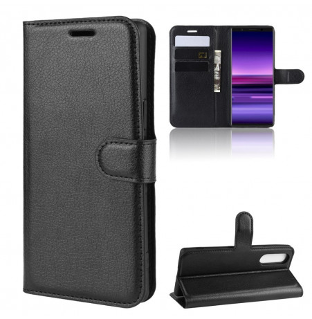 12784 - MadPhone кожен калъф за Sony Xperia 5