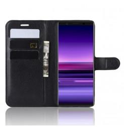 12785 - MadPhone кожен калъф за Sony Xperia 5
