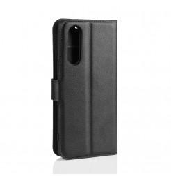 12787 - MadPhone кожен калъф за Sony Xperia 5