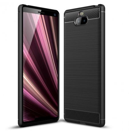 12834 - MadPhone Carbon силиконов кейс за Sony Xperia 10 Plus