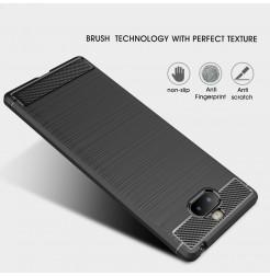 12835 - MadPhone Carbon силиконов кейс за Sony Xperia 10 Plus