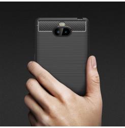 12838 - MadPhone Carbon силиконов кейс за Sony Xperia 10 Plus