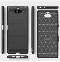 12839 - MadPhone Carbon силиконов кейс за Sony Xperia 10 Plus