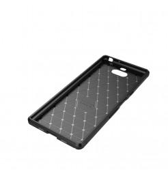 12849 - iPaky Carbon силиконов кейс калъф за Sony Xperia 10 Plus