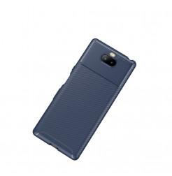 12855 - iPaky Carbon силиконов кейс калъф за Sony Xperia 10 Plus