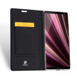 12922 - Dux Ducis Skin кожен калъф за Sony Xperia 10 Plus